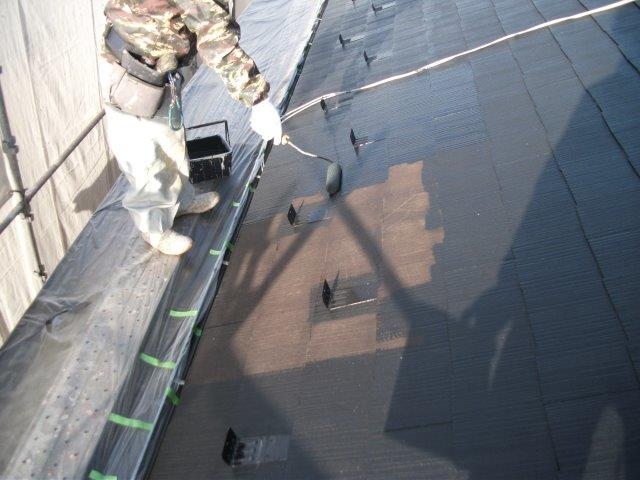 戸建て 屋根塗装工事