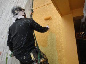 無足場ブランコ工法 外壁塗装