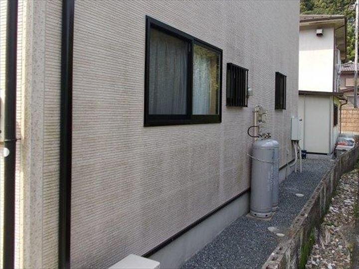 サイディング外壁クリヤー塗装工事