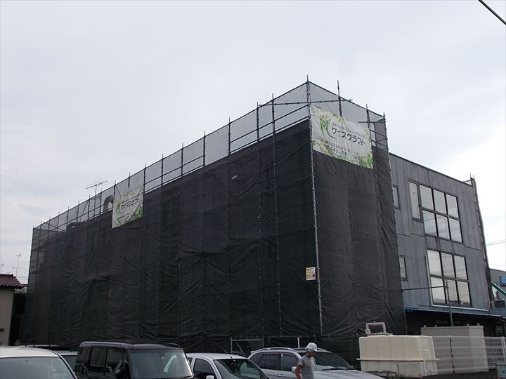 3階建 社屋 大規模修繕工事