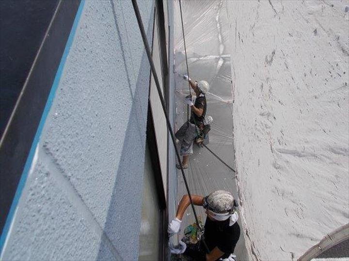 無足場工法 外壁塗装