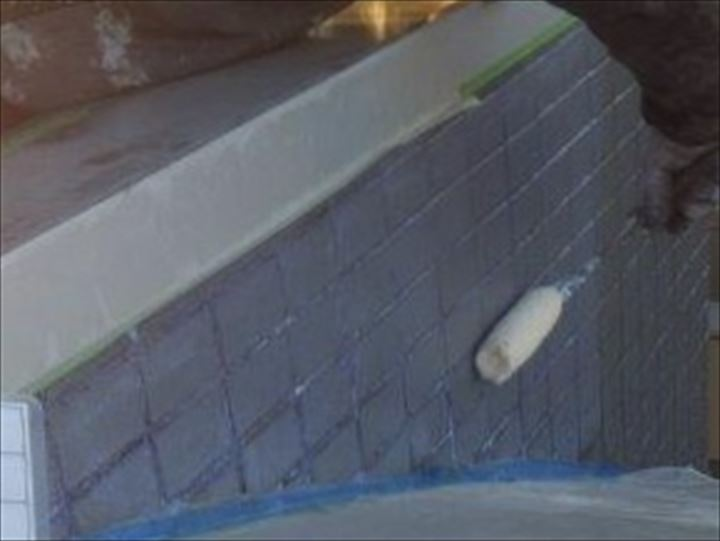タイル外壁防水
