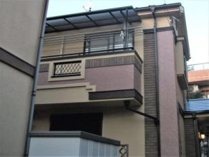 東京都 戸建て 外部塗装工事