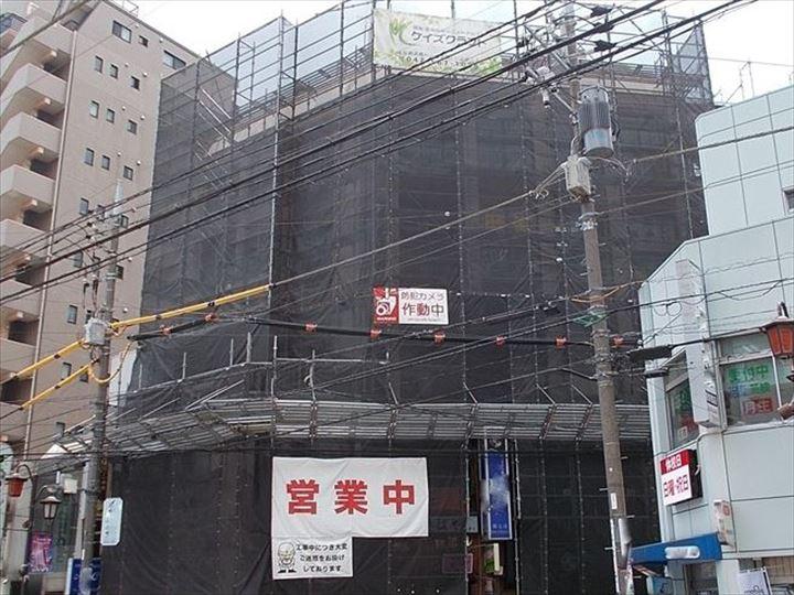 5階建ビル 大規模修繕工事