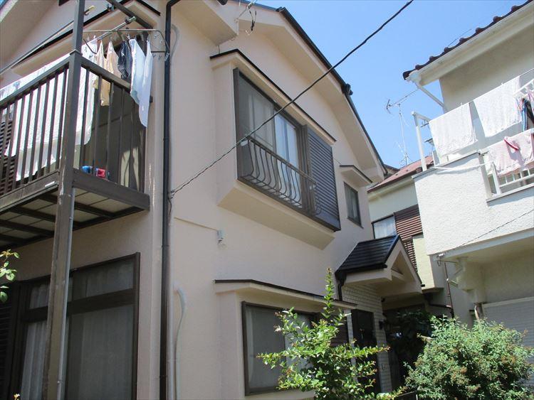 東京都東大和市 戸建て 外部塗装工事