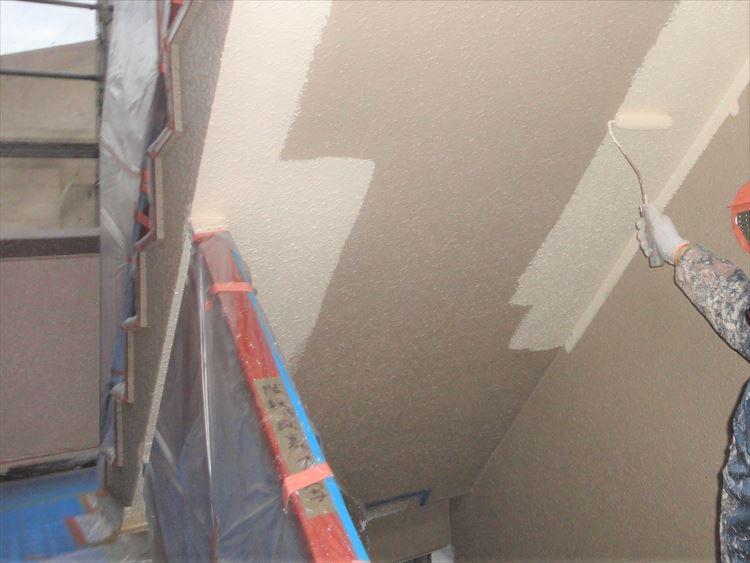 階段 段裏塗装