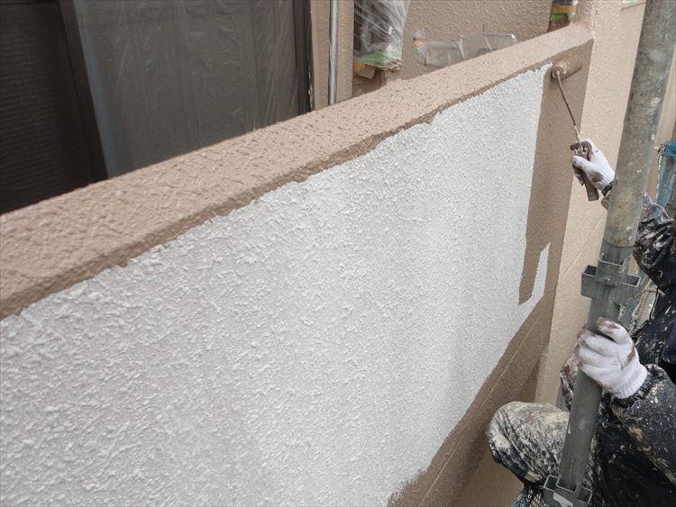 ベランダ手摺壁(外壁) 塗装