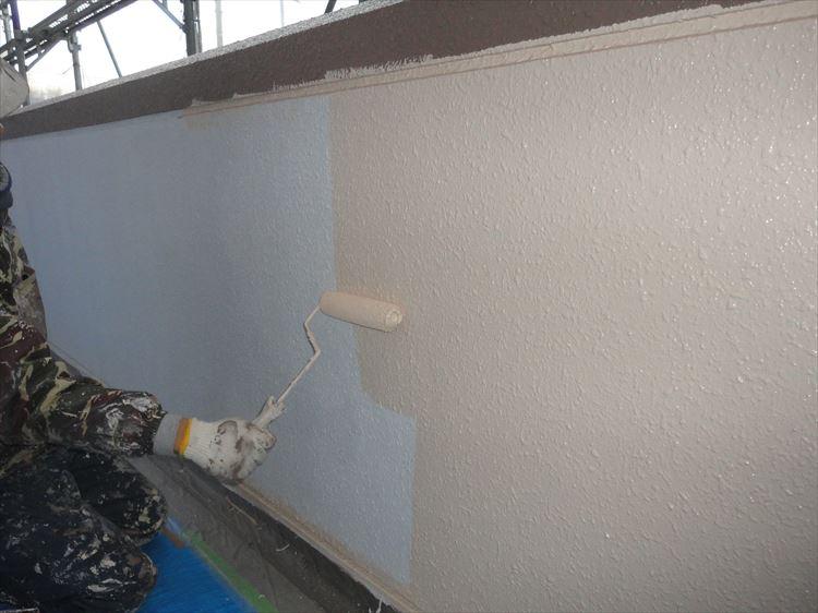 共用廊下 手摺壁(内壁) 塗装