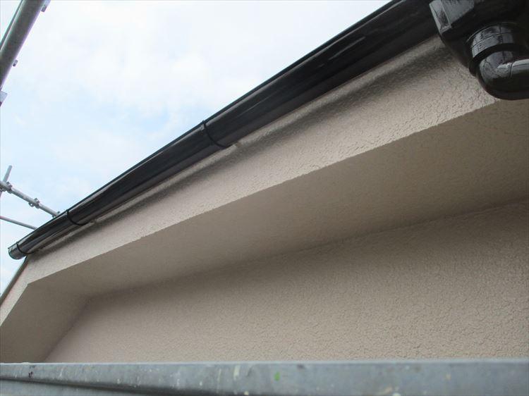 軒天、破風板 塗装