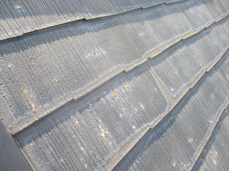 コロニアル屋根 塗装
