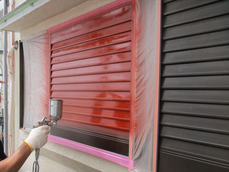 雨戸、戸袋 塗装