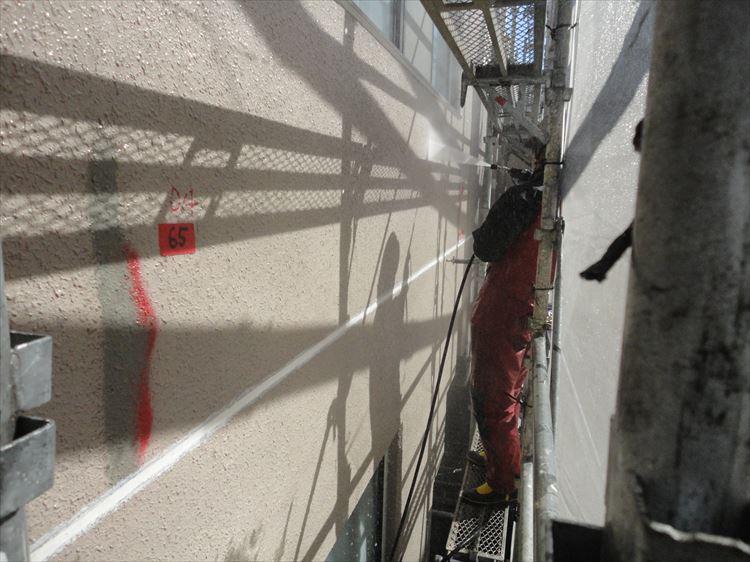 塗装面 高圧洗浄