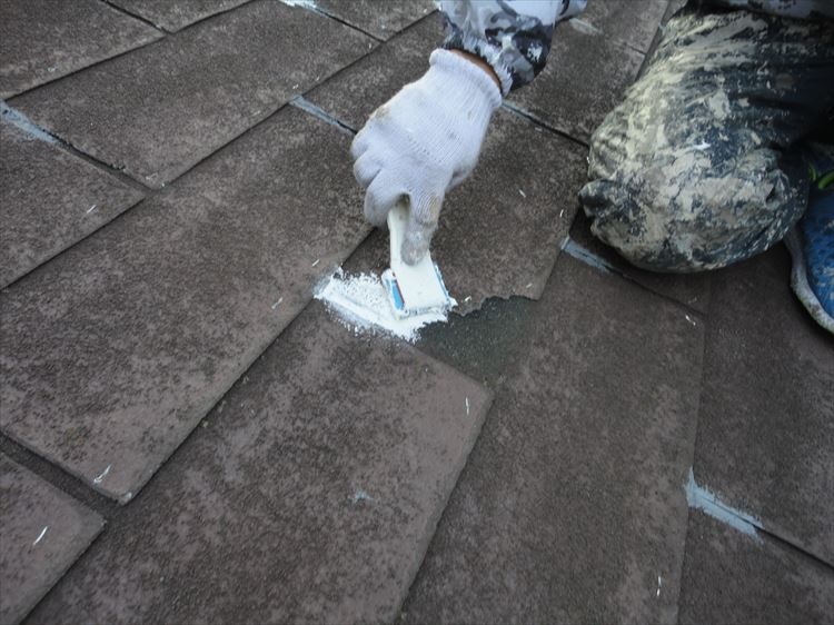アスファルトシングル屋根 下地補修
