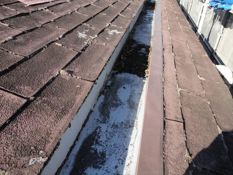 屋根ウレタン部 防水工事