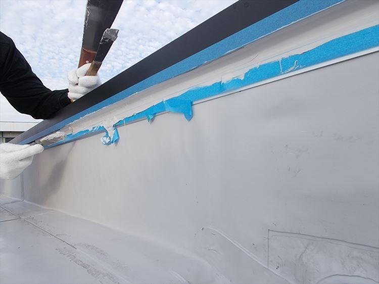 屋上防水工事 シーリング充填