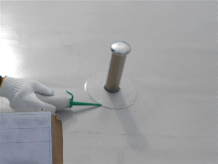 屋上防水工事 シート溶着