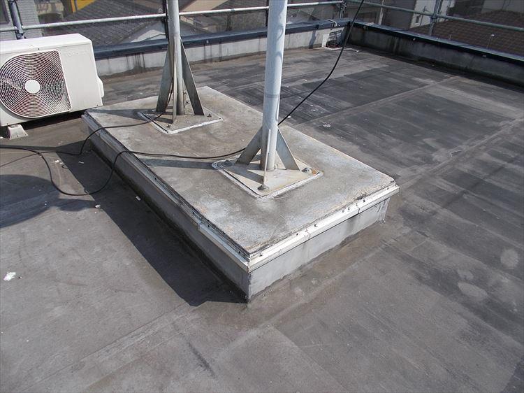 屋上架台部 施工前
