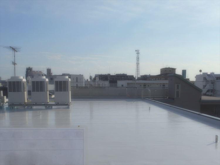 3階建社屋 屋上防水工事