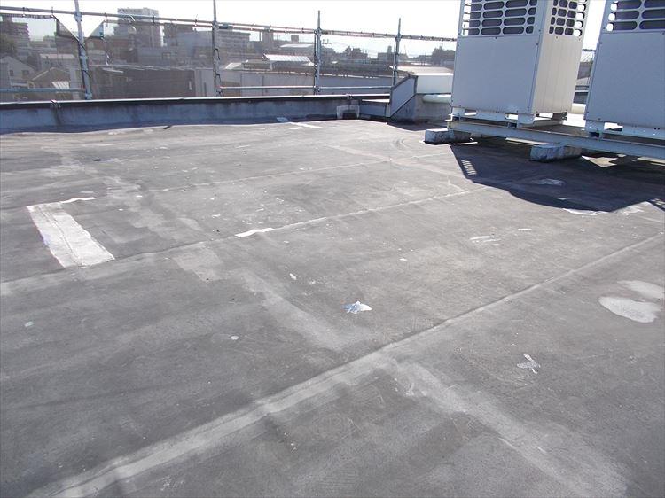 屋上防水工事 施工前
