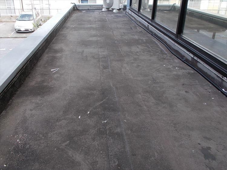 庇屋根防水工事 施工前
