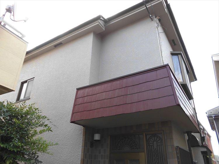 戸建て 外部塗装工事