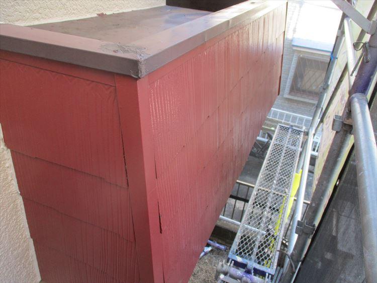 庇屋根塗装