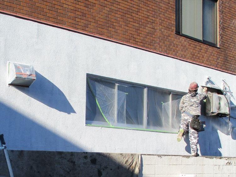 外壁モルタル面 塗装工事