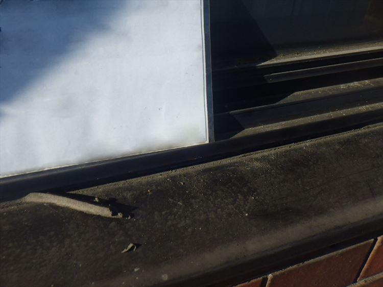 雨漏り補修工事 水切り部シーリング