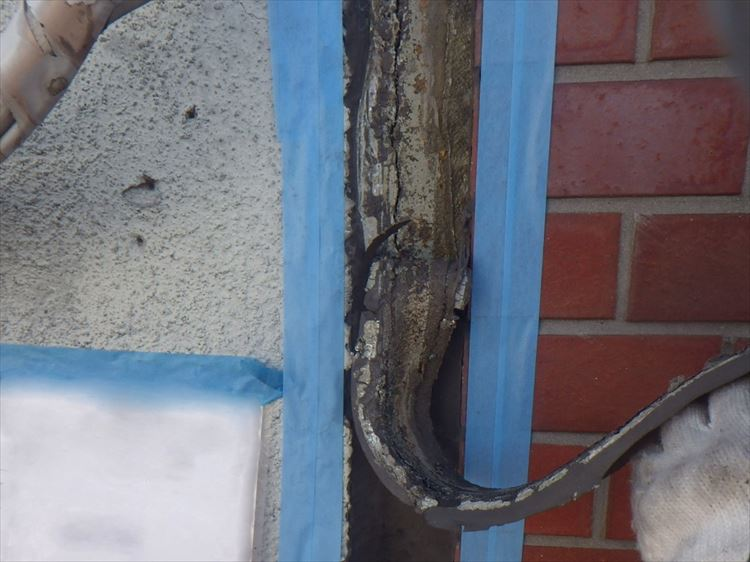 雨漏り補修工事 伸縮目地シーリング